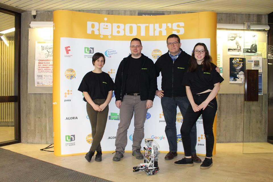 L'équipe PM-ROBOTIX